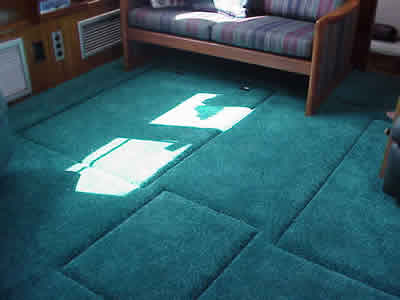 Fishing places for Replacing interior boat carpet